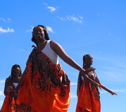 African Dancers Stock Images