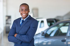 African dealership principal Royalty Free Stock Photo