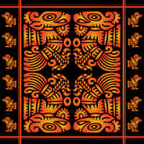 African decorative pattern Royalty Free Stock Image