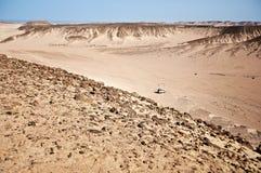 African desert in Hurghada in Egypt Stock Images