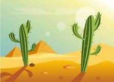 African Desert Landscape Stock Photos