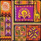 African design elements Royalty Free Stock Image