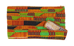 African Design Ribbon Ties Stock Images