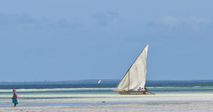 African Dhow Stock Photos