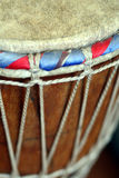 African djembe drum Stock Photography