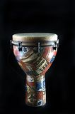 African Djembe Drum Black Bk Royalty Free Stock Photo