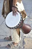 African djembe drum Royalty Free Stock Photography