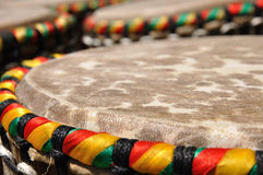 African djembe drums Stock Photos