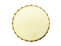 African djembe, top view Stock Photography