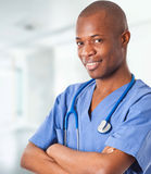 African doctor Royalty Free Stock Photography