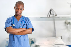 African doctor Royalty Free Stock Photo