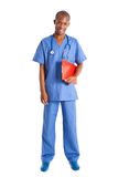 African doctor full length Stock Photos