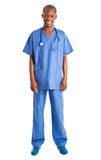 African doctor full length Royalty Free Stock Photos