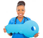 African doctor key Stock Photo