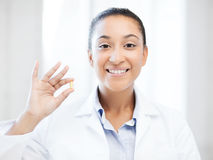 African doctor one omega pill Stock Images