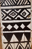 African Door With Tribal Paining Royalty Free Stock Photos