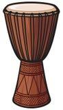 African Drum. Music Instrument, africa drum, folk musical instrument Stock Photos