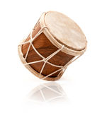 African drum. Isolated on a white background Royalty Free Stock Photography