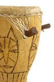 African drum in close up Royalty Free Stock Images
