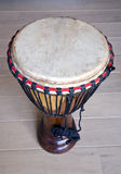 African drum on the floor Royalty Free Stock Images