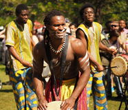 African Drummers Stock Image