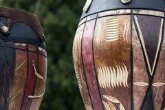 African drums Royalty Free Stock Images