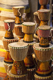 African Drums Royalty Free Stock Photos