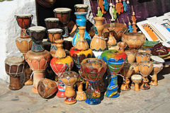 African drums Royalty Free Stock Photography