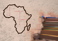 African education royalty free stock images