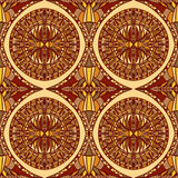 African egypt colorful ornament. Royalty Free Stock Photo
