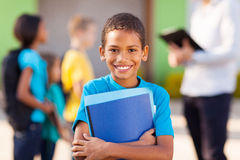 African elementary student Royalty Free Stock Image