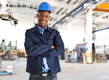 African engineer Royalty Free Stock Photos