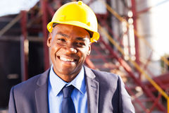 African engineer Stock Photography