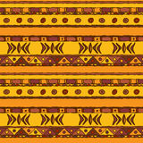 African ethnic seamless background Stock Photography