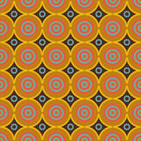 African ethno abstract seamless pattern with decorative folk ele Stock Photography