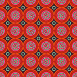 African ethno abstract seamless pattern with decorative folk ele Stock Image