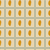 African ethno abstract seamless pattern with decorative folk Royalty Free Stock Photos