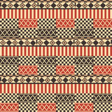 African ethno pattern  Stock Image