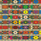 African ethno pattern Stock Photos