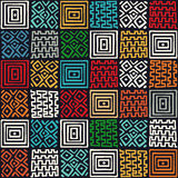 African ethno pattern Stock Photo