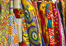 African Fabric Royalty Free Stock Images