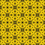 African fabric. Trendy and fashionable african seamless pattern Stock Image