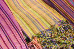 African Fabrics Stock Image