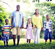 African Family Happiness Holiday Vacation Activity Concept Royalty Free Stock Photos