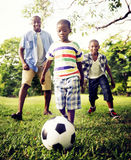 African Family Happiness Holiday Vacation Activity Concept Royalty Free Stock Image