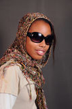African fashion female Royalty Free Stock Photos