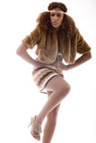 African fashion girl Stock Image