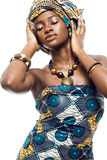 African fashion model. Stock Images