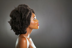 African fashion woman Royalty Free Stock Photography
