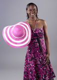 African Fashionista royalty free stock photography